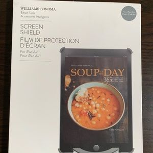 Williams Sonoma Smart tools screen shield